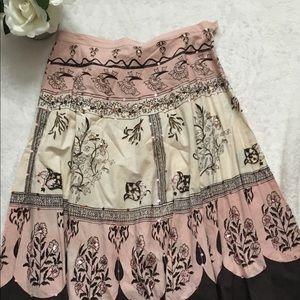 Women's cotton express size Lg skirt side zipper